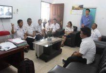 Wakil Wali Kota Kotamobagu Kunjungi Sejumlah SKPD
