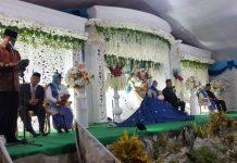 Herson Mayulu Didaulat Memberikan Hikmah Perkawinan Saat Menghadiri Hajatan Resepsi Pernikahan di Bolmut