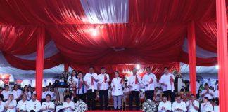 Bupati Bolmong Hadiri PKN Revolusi Mental di Manado Sekaligus Bertemu Tiga Menteri