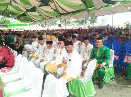 Pimpinan dan Anggota DPRD Hadiri Penobatan Gelar Adat kepada Bupati dan Wakil Bupati