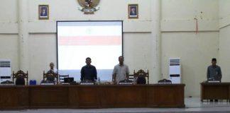 DPRD Bolmong Gelar Peripurna Penetapan Peraturan Tatib