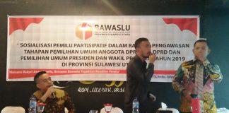 Bawaslu Provinsi Sulut Gelar Sosialisasi Pengawasan Tahapan Pemilu 2019 di Bolmut
