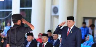 Bupati Bolmut Pimpin Upacara Peringatan Sumpah Pemuda ke-90 Tahun 2018