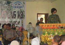 peresmian Kampung KB di Desa