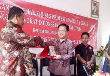 DPP KAI Sulut Menggelar Diklat Khusus Profesi Advokat