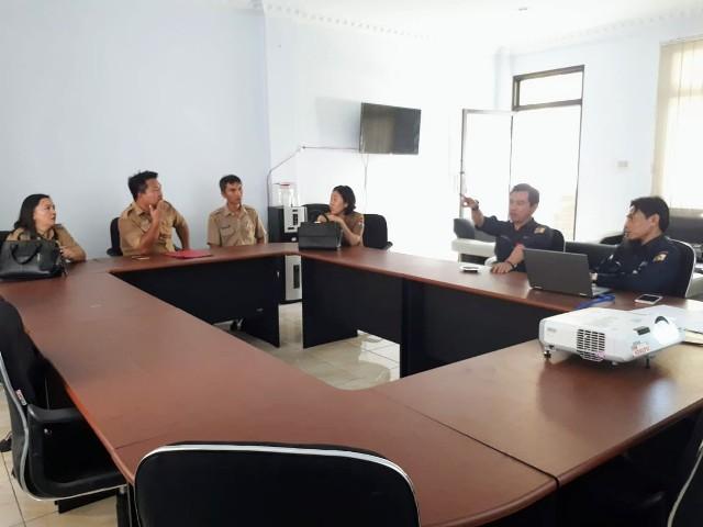 Diskominfo Mitra Sambangi Data Center Kota Kotamobagu