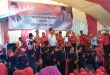 Seruan Pilih Pasangan Jokowi-Ma'ruf Amin pada Pilpres 2019 Menggema di Kecamatan Lolayan