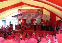 Herson Mayulu Disambut Antusias Masyarakat Desa Tanoyan Bersatu