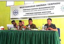Muhammadiyah Gelar Musda Terpadu Pembentukan PDM Dan PDA di Boltim