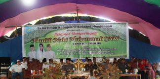 Bacakan Sambutan Bupati, Yanny Ucapkan Selamat Memeperingati Maulid Nabi Muhammad SAW