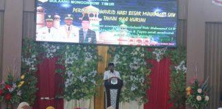 Bupati Boltim Hadiri Peringatan Maulid Nabi Muhammad SAW