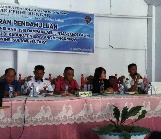 Pemkab Bolmong Bahas Laporan Pendahuluan Pekerjaan Jasa Konsultasi Andalalin Bandara Raja Loloda Mokoagow