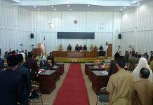 DPRD Bolmut Gelar Rapat Paripurna Penyampaian KUA-PPAS APBD Tahun Anggaran 2019