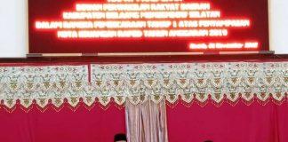 Pemkab dan DPRD Bolsel Gelar Rapat Paripurna Penyampaian Nota Keuangan RAPBD Tahun Anggaran 2019