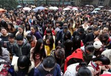 Jadi Dambaan, Ribuan Warga Cina Ikut Tes CPNS