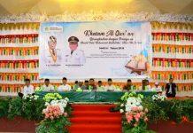 Wakil Wali Kota Hadiri Khatam Alquran Ratusan Santri dan Santriawan se-Kotamobagu