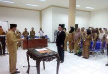 Wabup Yanny Lantik Direktur Rumah Sakit yang Baru