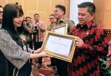 Pemkot Kotamobagu Raih Penghargaan Keterbukaan Informasi Publik