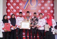 Bupati Bolsel Terima Penghargaan Pemkab Peduli HAM Tahun 2018