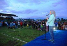 Wali Kota Resmi Menutup Kompetisi Sepak Bola Open Turnamen Wali Kota Cup III Tahun 2018