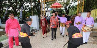 Pererat Silaturahmi, Bupati Bolsel Hadiri Peringatan HUT ke-16 Kabupaten Bone Bolango