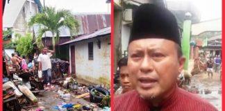 Herson Mayulu Ungkapkan Keprihatinannya kepada Korban Banjir di Manado