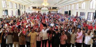 Giliran Relawan di Kota Kotamobagu dan Modayag Bersatu untuk Herson Mayulu ke DPR RI Dilantik