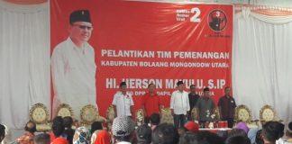 Sekretaris DPC PDIP Bolmut Sebut Herson Mayulu Bukan Hanya Politisi Lokal, Tapi Sudah Berskala Nasional