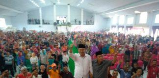 Tim Pemenangan Herson Mayulu ke DPR RI se-Kabupaten Bolmut Dilantik