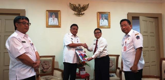 Gubernur Sulut Terima LHP BPKP