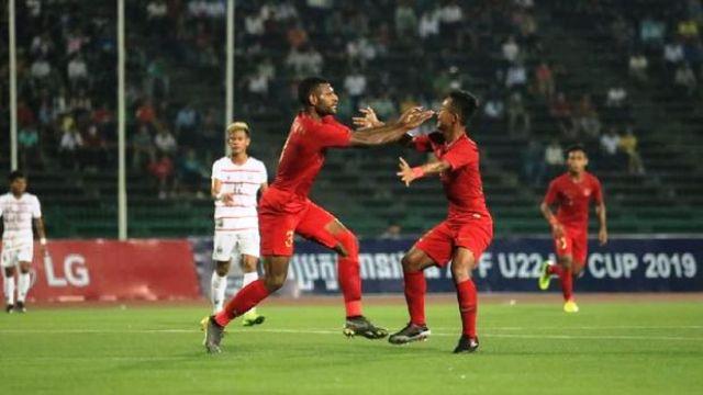 Timnas Indonesia U-22 Optimis Kalahkan Vietnam