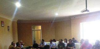 Wakil Bupati Bolmut Terima Audensi PT Telkom Indonesia