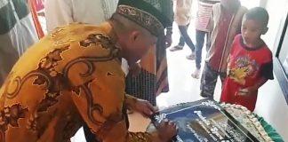 Mewakili Bupati Bolmong, Sekwan Resmikan Musala As Syura