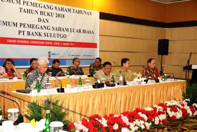 Gubernur Sulut Pimpin RUPS Bank SulutGo