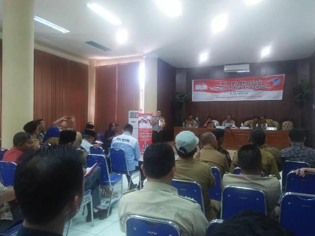 Hadiri Sosialisasi Penanganan Konflik Sosial, DPD GMPK Support Pemkab Bolmong