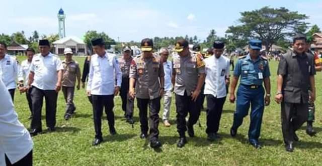 Pantau Pleno KPU, Kapolda Sulut Kunjungi Kabupaten Bolsel