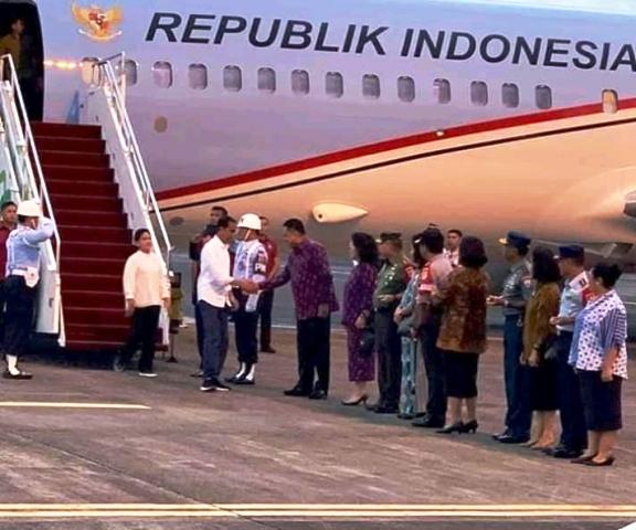 Presiden Jokowi Lakukan Kunjungan Kerja di Manado