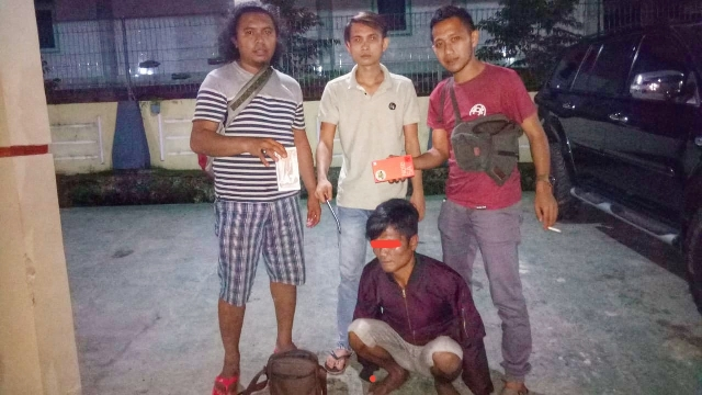 Tersangka Pembobol Rumah Diringkus Tim Resmob Kotamobagu