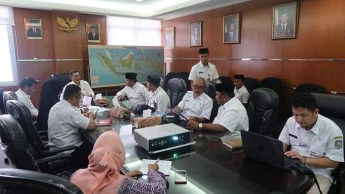 Bahas Status Kesbangpol, Wabub Bolsel Temui Ditjen Polpum Kemendagri RI di Jakarta
