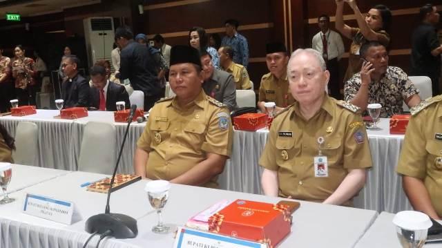 Wabup Bolsel Hadiri Rakor High Level Meeting di Kantor BI Sulut