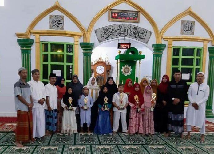 Kelurahan Motoboi Besar Gelar Lomba Tahfizh Quran