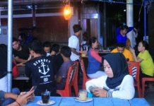 Semarakkan Ramadhan, Pemuda Buyat Bersatu Buka Kedai Kopi