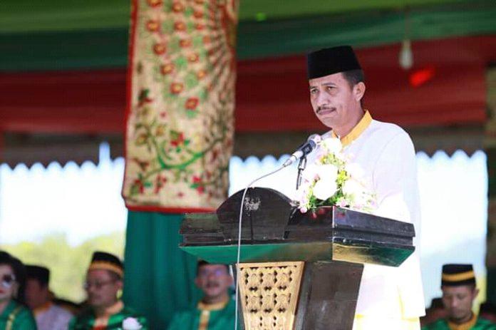 Mengenang Sejarah, Saiful Ambarak Bacakan Deklarasi Pembentukan Kabupaten Binadou