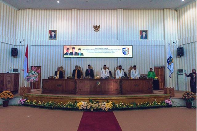DPRD Bolmut Gelar Rapat Paripurna Istimewa Peringatan HUT ke-12 Kabupaten