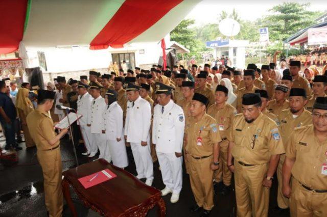 Bupati Bolsel Lantik 29 Pejabat, Berikut Nam-namanya