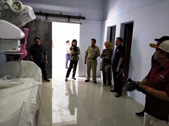 DPRD Nyatakan Gedung Radiologi RSUD Kota Kotamobagu Tidak Sesuai Spek