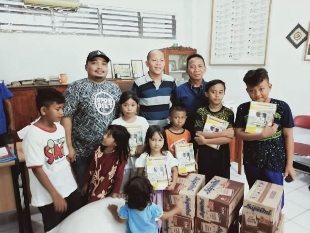 PWI Sulut Gelar Halal Bi Halal Bersama Anak Yatim