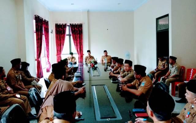 Bupati Bolsel Pimpin Rapat Dinas Perdana Bersama Kabinet Baru