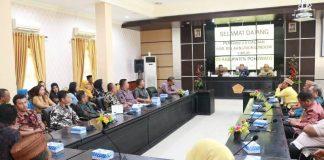Pemkab Boltim Gelar Rapat Kerja Berbasis Aplikasi dengan Pemkab Pohuwato
