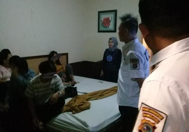 Satnarkoba Polres Kotamobagu Gelar Operasi Gabungan di Tempat Hiburan Malam dan Hotel Melati